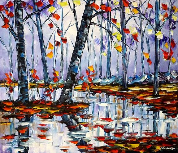 Herbst am Fluss. Mirek Kuzniar Mirek Kuzniar