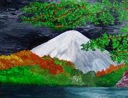 Jour d'orage sur le mont fuyji. Symphonie