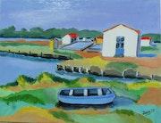 Le port de la Guittière. Jean-Claude Robin
