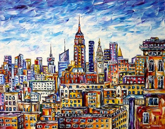 Las terrazas de las azoteas de Nueva York. Mirek Kuzniar Mirek Kuzniar