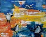 Gulls. Setati