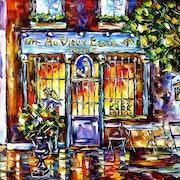 Café Au Vieux Paris d'Arcole. Mirek Kuzniar