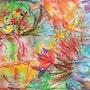 Fleurs aux plumages multicolores. Léna Léticée Chanas