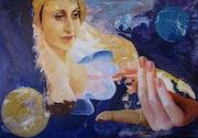 Appel magique d'une apparition cosmiques.