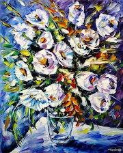Bouquet blanc.