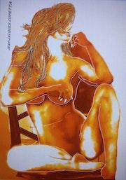 Femme en position crevisse. Jean-Jacques Copetta