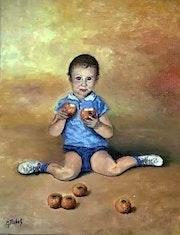 Ahh! ! … Les pommes….