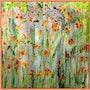 Champs de fleurs. Sylviane Rolland