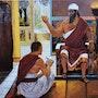 Peinture des rois portraits. Joky Kamo