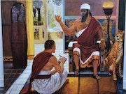 Peinture des rois portraits.