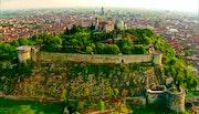 Городской пейзаж 007. Fluidartfill