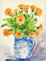 Gartenblumen.