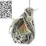 Honey Ethiopian Opal Wire-Wrapped Pendant with Ethiopian Welo Opals. Heather Jordan Jewelry