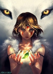 Princess Mononoke Hime. Thanh Van Tan