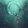 Spirited Away Fanart - Chihiro. Thanh Van Tan