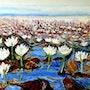 Lotus fields.