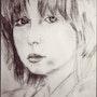 Jeune fille 1980.
