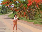 2020-08-10 Cuba-piste de Las Terrazas. Michel Normand