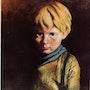 Interprétation (enfant triste). Bernard Vega