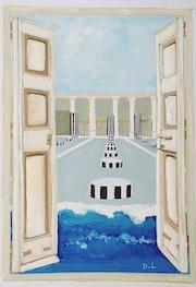 Colonnes de buren. Danièle Legrain