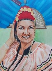 Yolanda, joie et beauté de la Bolivie. Emota