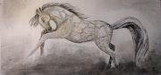 Le cheval craquelé. Marijke Denis