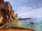 Début de soirée à Collioure.