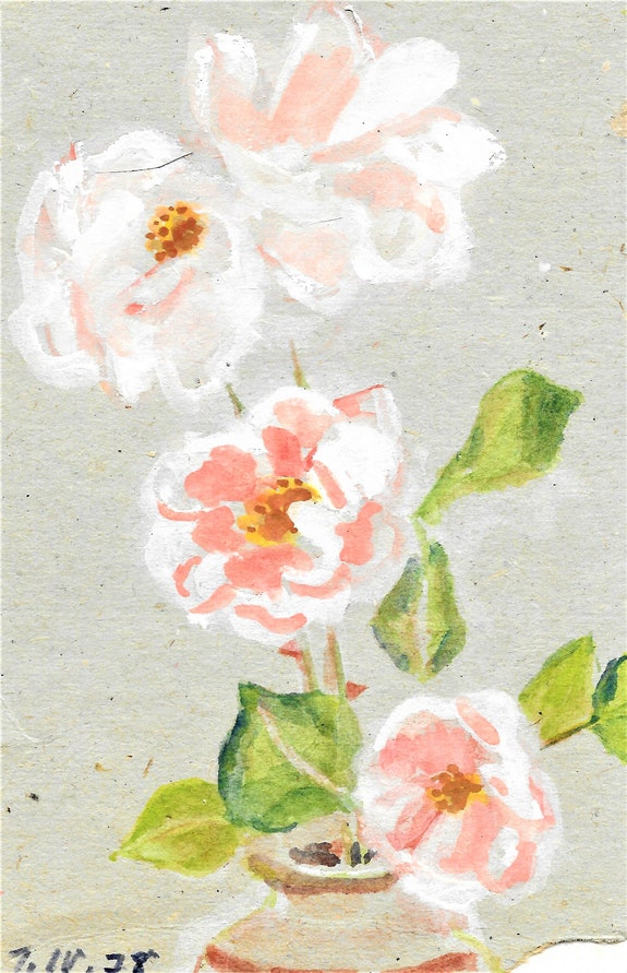 Gartenblumen. Martha Krug Krukie