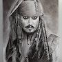 Johnny Deep Jack Sparrow Pirates des Caraibes. Abdel Lakhdouri