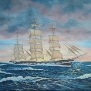 Waimate Clipper Ship. George Stevens
