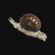 Sculpture escargot Joris Guitton.