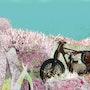 La moto abandonnée. Françoise Deléglise