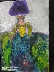 Esta obra es una menina y esa enfocada en abstracta. Particlar