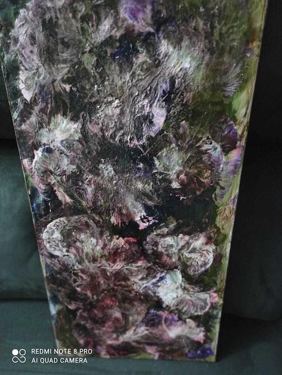 Es una en abstracto titulo nubes enfadadas. Maria Delcarmen Mejuto Castiñeira