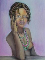 Jeune fille Malgache.