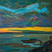 Before sunrise. Olga Morozova