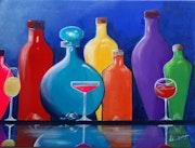 » Soif de couleurs ». Linda Guillou «Ti. Songe»
