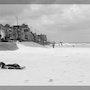 Photo Numérique Noir et Blanc Plage de Bray-Dunes année 2006. Nazca Spirit
