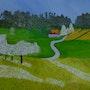 Sur la route. Anne Lecomte