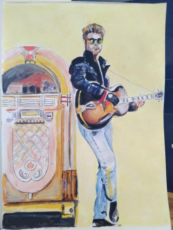 George Michael » Faith ». Steve Peachey Steve Peachey