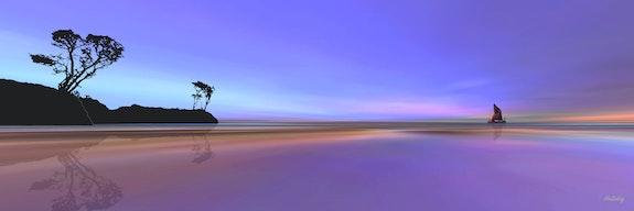 Purple Serenity. Alan Bedding Alan Bedding