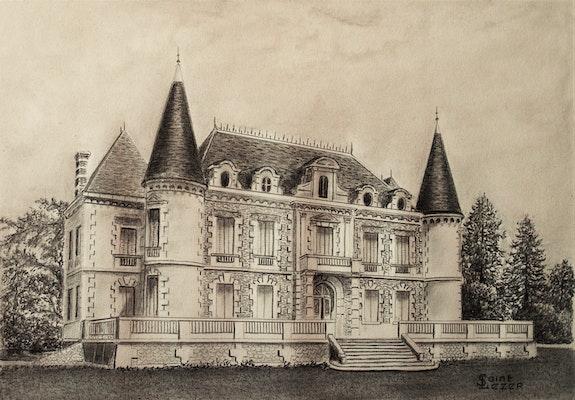 Le Château Lamothe Bergeron. Jean-Yves Saint Lezer Jean-Yves Saint Lezer