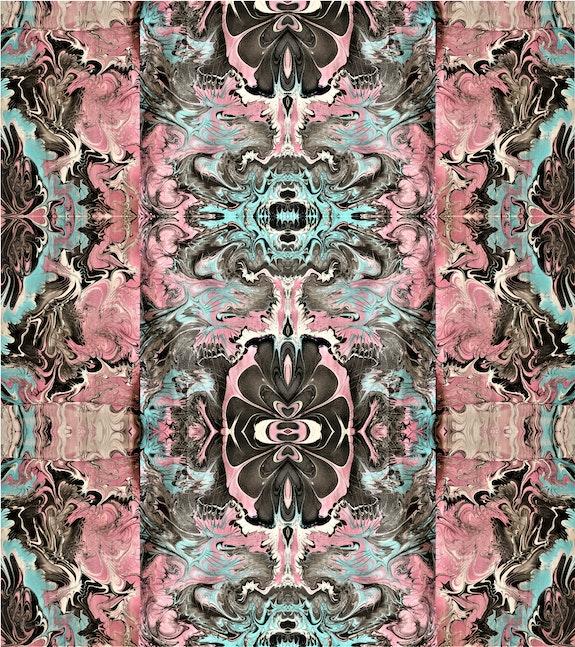 Marbling Arabesque-abstract wall art print. Paola De Giovanni Paola De Giovanni