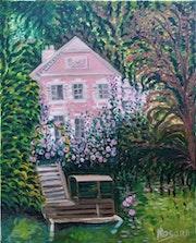 «La maison des bords de marne». Rosann