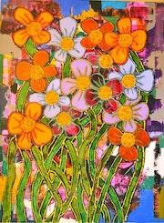 Big Flowers. Mark Nute