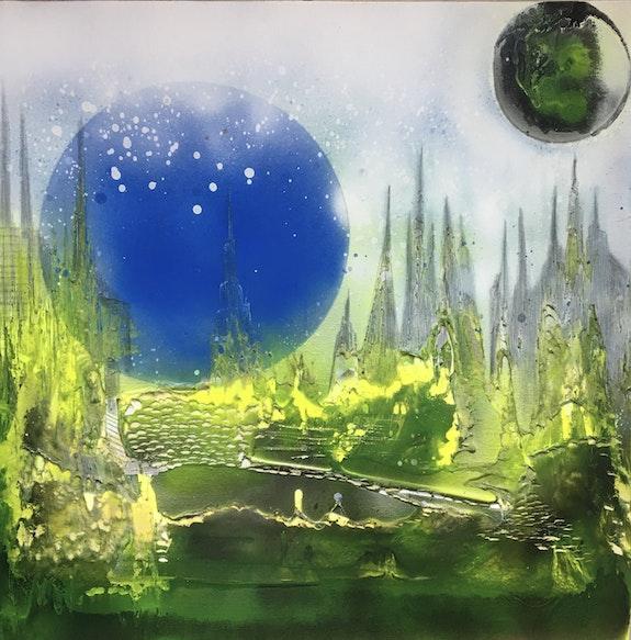 Spiritual Black Moon. Claude Valéry Claude Valery