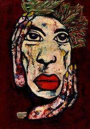 56- Dos. Faces.. Carmen Luna