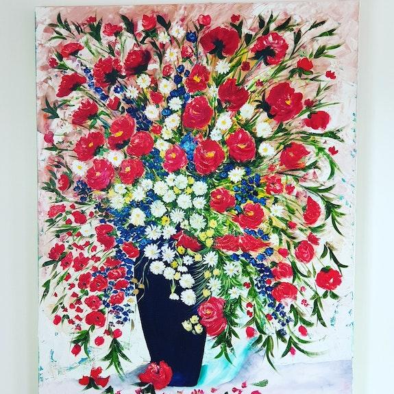 Bouquet moderne. Scali'arts Scali'arts