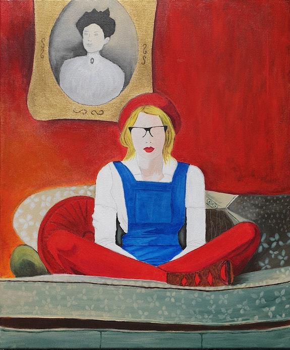 Les collants rouges. Sophie Ackermann Sophie Ackermann