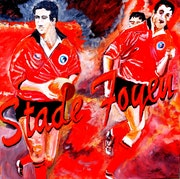 L'aventure en Rouge et Noir du Stade Foyen. Sergio